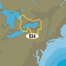 C-MAP MAX-N+ NA-Y934 - Lake Ontario & Trent Severn Waterway