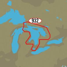 C-MAP MAX-N+ NA-Y932 - Lake Huron & Georgian Bay