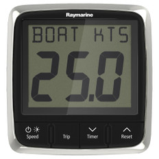 Raymarine i50 Speed Display System w/Nylon Thru-Hull Transducer