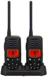 Standard HX100 Hand Held VHF Twin Pack Of Radios