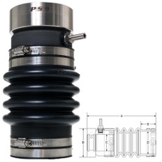 PSS Shaft Seal 1- Shaft 2- Tube - 50848