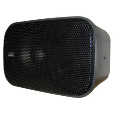 Poly-Planar Compact Box Speaker - 7-1/2 x 4-15/16 x 4-15/16 - (Pair) Black