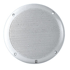 Poly-Planar 5 2-Way Coax-Integral Grill Speaker - (Pair) White