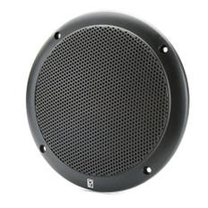 Poly-Planar 6 2-Way Coax-Integral Grill Marine Speaker - (Pair) Black