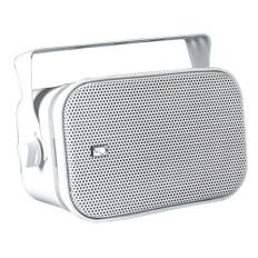 Poly-Planar MA800W Compact Box Speaker - (Pair) White