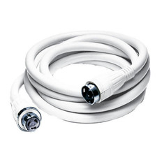 Hubbell HBL61CM42W 50A 250V 25 Foot White Shore Cord