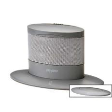 Poly-Planar Oval Waterproof Pop-Up Spa Speaker - Gray