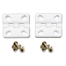 Cooler Shield Replacement Hinge f/Coleman  Rubbermaid Coolers - 2 Pack