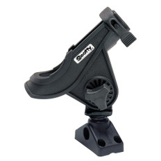 Scotty 280 Bait Caster/Spinning Rod Holder w/241 Deck/Side Mount - Black