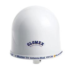 Glomex 10 Dome TV Antenna w/Auto Gain Control  Mount