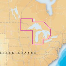 Navionics Platinum+ - West Great Lakes - microSD/SD