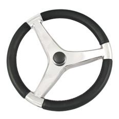 Ongaro Evo Pro 316 Cast Stainless Steel Steering Wheel - 13.5Diameter