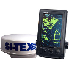SI-TEX T-760 Compact Color Radar w/4kW 18 Dome - 7 Touchscreen