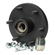C.E. Smith Trailer Hub Kit - Tapered Spindle - 6x5.5 Stud - 1,750lb Capacity