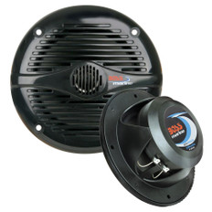 Boss Audio MR50B 5.25 Round Marine Speakers - (Pair) Black