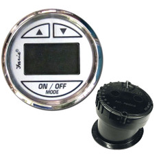 Faria 2 Depth Sounder w/In-Hull Transducer - Chesapeake White - Stainless Steel Bezel