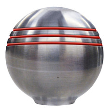 Ongaro Throttle Knob - 1- - Red Grooves - 48241