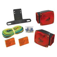 Wesbar Under 80 Combination Trailer Light Kit w/Sidemarkers