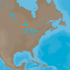 C-MAP 4D NA-D930 Lake Superior