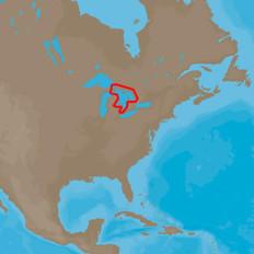 C-MAP  4D NA-D932 Lake Huron and Georgian Bay