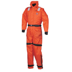 Mustang Deluxe Anti-Exposure Coverall & Worksuit - MED - Orange