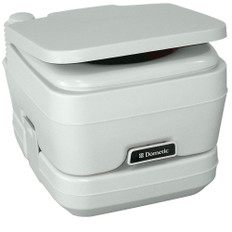 Dometic - 964 Portable Toilet 2.5 Gallon Platinum