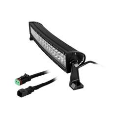 HEISE Dual Row Curved LED Light Bar - 22