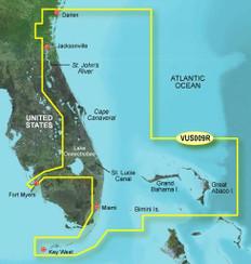 Garmin VUS009R G2 Vision Jacksonville To Key West