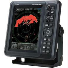 """Icom MR-1010RII 10.4"""""""" Color Radar 24"""""""" 4Kw Dome"""