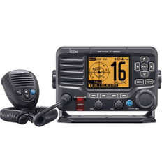 Icom M506-01 Black VHF Radio NMEA0183 Front Mic