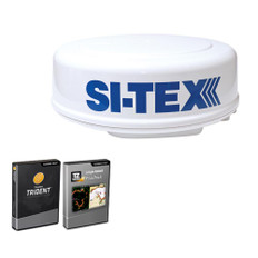 SI-TEX MDS-8R Radar Sensor Package Includes 2kW/24nm Radome Antenna, 33 Cable  P-Sea Software