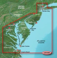 Garmin VUS038R G2 Vision New York To Chesapeake