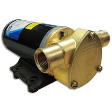 Jabsco Ballast King Bronze DC Pump w/Reversing Switch - 15 GPM