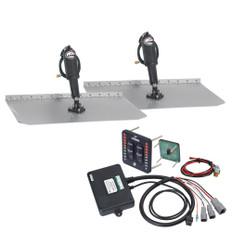Lenco 12 x 18 Standard Trim Tab Kit w/LED Indicator Switch Kit 12V
