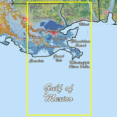 Garmin Louisiana East Standard Mapping Classic