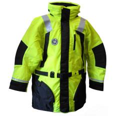 First Watch Hi-Vis Flotation Coat - Hi-Vis Yellow/Black - XX-large