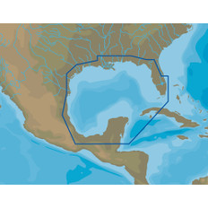 C-MAP 4D NA-D064 Gulf of Mexico - microSD/SD