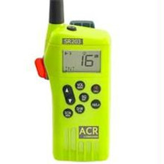 ACR 2827 Multi Channel GMDSS Waterproof Hand Held VHF SR203