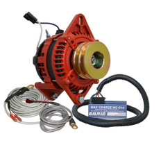 "Balmar Alternator 3.15"" Dual Foot Saddle Dual V Pulley Regulator & Temp Sensor - 170A Kit - 12V"