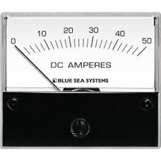 Blue Sea 8022 DC Analog Ammeter - 2-3/4 Face, 0-50 Amperes DC