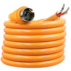 SmartPlug 50 Amp 25' Harmonized Cord w/Dockside NEMA SS2-50R Twist-Type Connector w/Blunt End