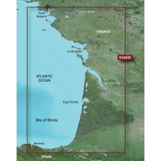 Garmin BlueChart g3 Vision HD - VEU465S - La Baule to San Sebastian - microSD/SD