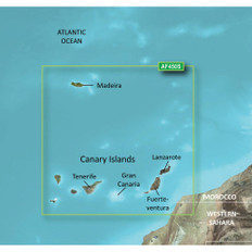 Garmin BlueChart g2 Vision HD - VAF450S - Madeira /SD