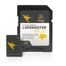 Humminbird Hcmidsp2 Lakemaster Plus Midsouth States Microsd - HUM6000098
