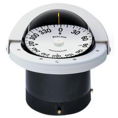 Ritchie FN-201W Navigator Compass - Flush Mount - White