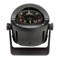 Ritchie HB-741 Helmsman Compass - Bracket Mount - Black