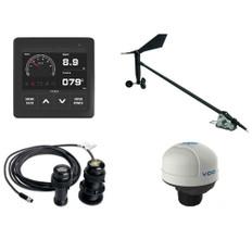 VDO Navigation Kit Plus f/Sail, Wind Sensor, Transducer, Nav Sensor, Display & Cables