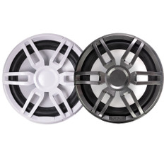 "FUSION XS-SL10SPGW XS Series 10"" 600 Watt Sports Marine Subwoofer - Sports White  Grey Grill Options"
