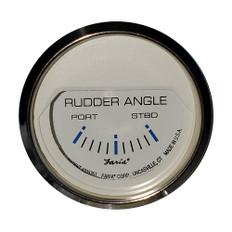 "Faria 2"" Rudder Angle Indicator - Chesapeake White w/Stainless Steel Bezel"