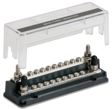 "Bep Z Bar 18 Way Buss Bar 4 1/4"""" Studs 18 5/32 Terminals 200a 50v Dc"